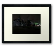 Aston Hall by Candlelight (Exterior) Framed Print