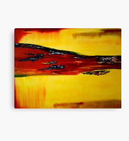 The flow Canvas Print
