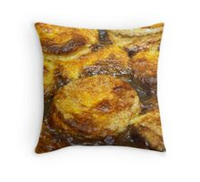 Cheese Dumplings Throw Pillow
