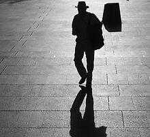 Bushman in the big city (4-12) by David Petranker