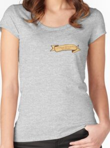 I always wanted to be a Tenenbaum // Royal Tenenbaums Women's Fitted Scoop T-Shirt
