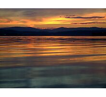 Golden Waters Photographic Print
