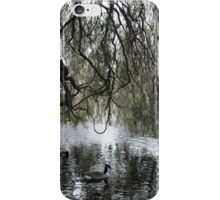 """A natural symmetry"" - Regents Park, London (2014) iPhone Case/Skin"