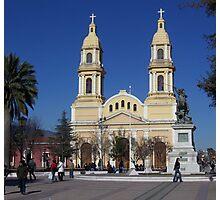 La Plaza, Rancagua, Chile Photographic Print