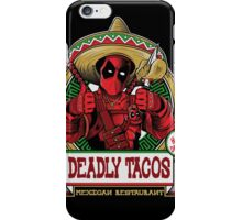 DEADLY TACOS iPhone Case/Skin