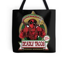 DEADLY TACOS Tote Bag