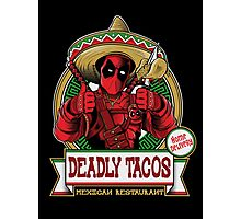 DEADLY TACOS Photographic Print
