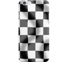 Chequered Flag Slight Ripple iPhone Case/Skin