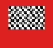 Chequered Flag Slight Ripple Unisex T-Shirt