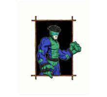 super villains: untitled... Art Print