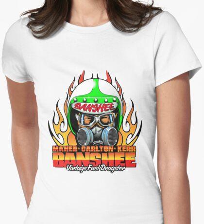 Banshee Helmet large Womens Fitted T-Shirt