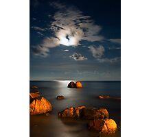Moonlight Romance  Photographic Print