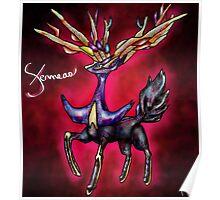Xerneas - Pokemon X Legendary (Prints) Poster