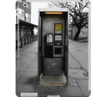 Phone booth - Derelict Study iPad Case/Skin