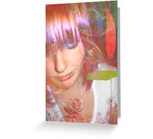 Lost in your illusion Greeting Card