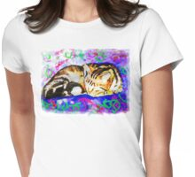 Pookie 2 The Magical Cat Womens Fitted T-Shirt
