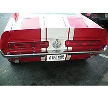 67 M u s t a g  rear end Photographic Print