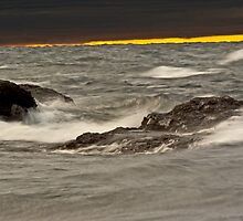 ~ Disturbance in The Waters of The Storm by Tim Denny