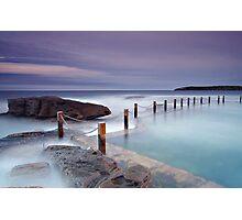 Mahon Pool Sunset Photographic Print