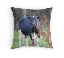 What are you up to? Throw Pillow