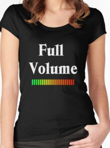 Mono Full Volume  Women's Fitted Scoop T-Shirt
