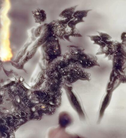 Old flames [Digital Figure Illustration] Sticker
