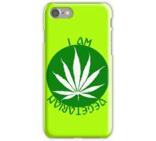 I AM VEGETARIAN  iPhone Case/Skin