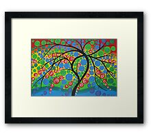 Happiness Tree Framed Print