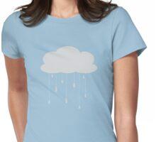 Rain cloud Womens Fitted T-Shirt