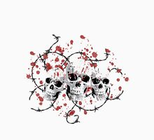 Barbed Skulls Unisex T-Shirt