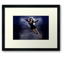 Moon Witch Framed Print