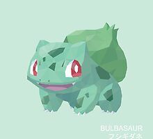 Bulbasaur Low Poly by meowzilla
