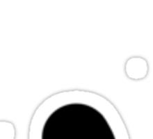 Simplistic Semicolon Sticker