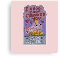 I Choo - Choo - Choose You! Canvas Print