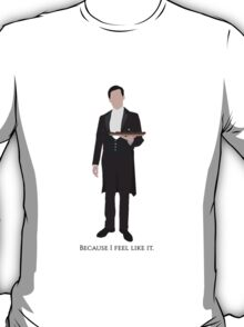 Downton Abbey - Thomas Barrow T-Shirt