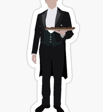 Downton Abbey - Thomas Barrow Sticker