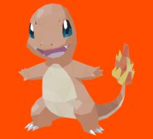 Charmander Low Poly T-Shirt