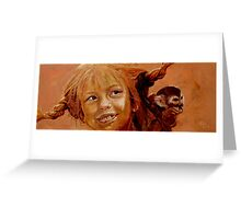 Pippi Greeting Card