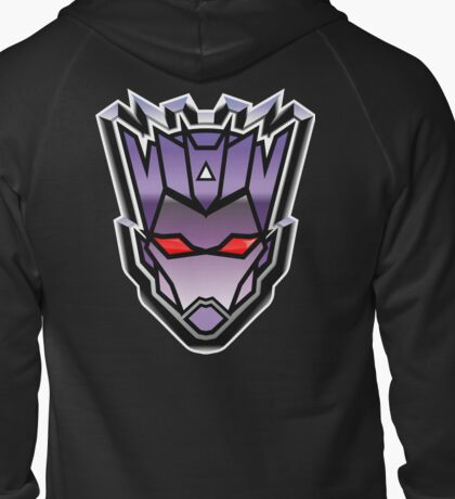 TFxGB - Evil Gozerian (Faction Head) G1 METAL Zipped Hoodie