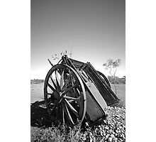 The ore cart Photographic Print