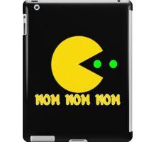 NOM NOM NOM PAC MAN Funny Geek Nerd iPad Case/Skin