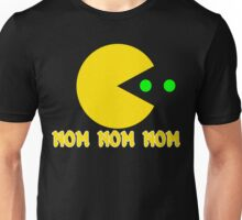 NOM NOM NOM PAC MAN Funny Geek Nerd Unisex T-Shirt