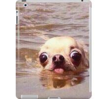 Swimming dog iPad Case/Skin