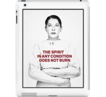Abramovic iPad Case/Skin