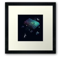 Constructing the Cosmos Framed Print