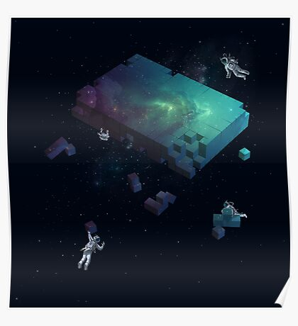 Constructing the Cosmos Poster