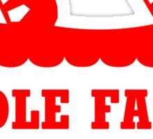 PADDLE FASTER I HEAR BANJOS Funny Geek Nerd Sticker
