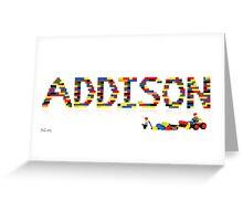 Addison Greeting Card