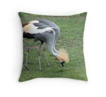 African Cranes, Two In One Throw Pillow