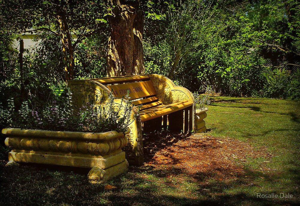 My resting place . . . by Rosalie Dale